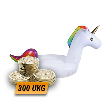Inflatable Floating Unicorn + 300 UKG