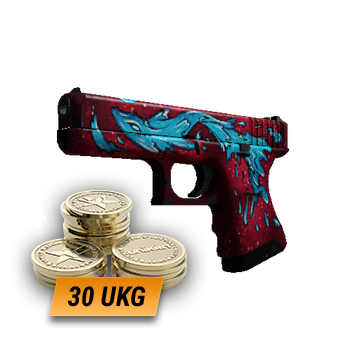 Glock-18 | Water Elemental (Field-Tested) + 30 UKG