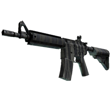 ★ STATTRAK™ M4A4   Faded Zebra (Minimal Wear)