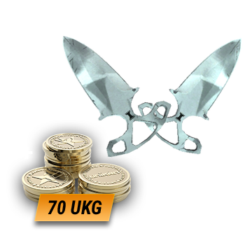 ★ Shadow Daggers   Urban Masked (Field-Tested) + 70 UKG