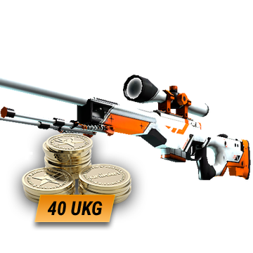 AWP | Asiimov (Field-Tested) + 40 UKG