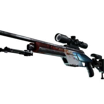 SSG 08 | Blood in the Water (Minimal Wear)