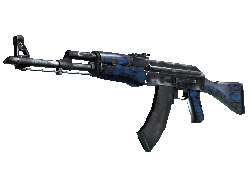 Win StatTrak™ AK-47 | Blue Laminate (Field-Tested)